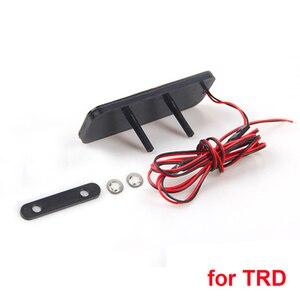 Стайлинг автомобиля, эмблема, светодиодная светящаяся наклейка на багажник, Красный значок для Honda RS Si для BWM для Toyota TRD, высококачественный а...