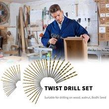 HSS сталь кобальт мини твист сверло сверло набор прямой хвостовик отверстие открывалка сила сверление пробивка инструменты для DIY деревообработка