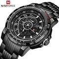 NAVIFORCE новые мужские часы люксовый бренд спортивные часы мужские кварцевые часы мужские военные наручные часы Подарки для мужчин