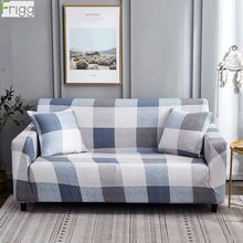 Frigg Elastic Sofa Cover Fabric Modern Corner Sofa Cover Stretch Sectional Couch Covers Slipcover Sofa 1/2/3/4 Seat Home Decor