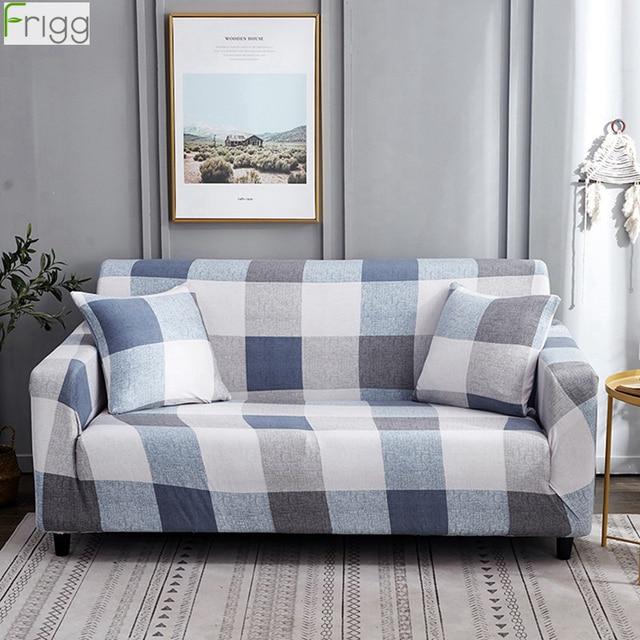 Frigg مرونة قماش لتغطية الأرائك الحديثة غطاء أريكة الزاوية تمتد الاقسام الأريكة يغطي الغلاف أريكة 1/2/3/4 مقعد ديكور المنزل