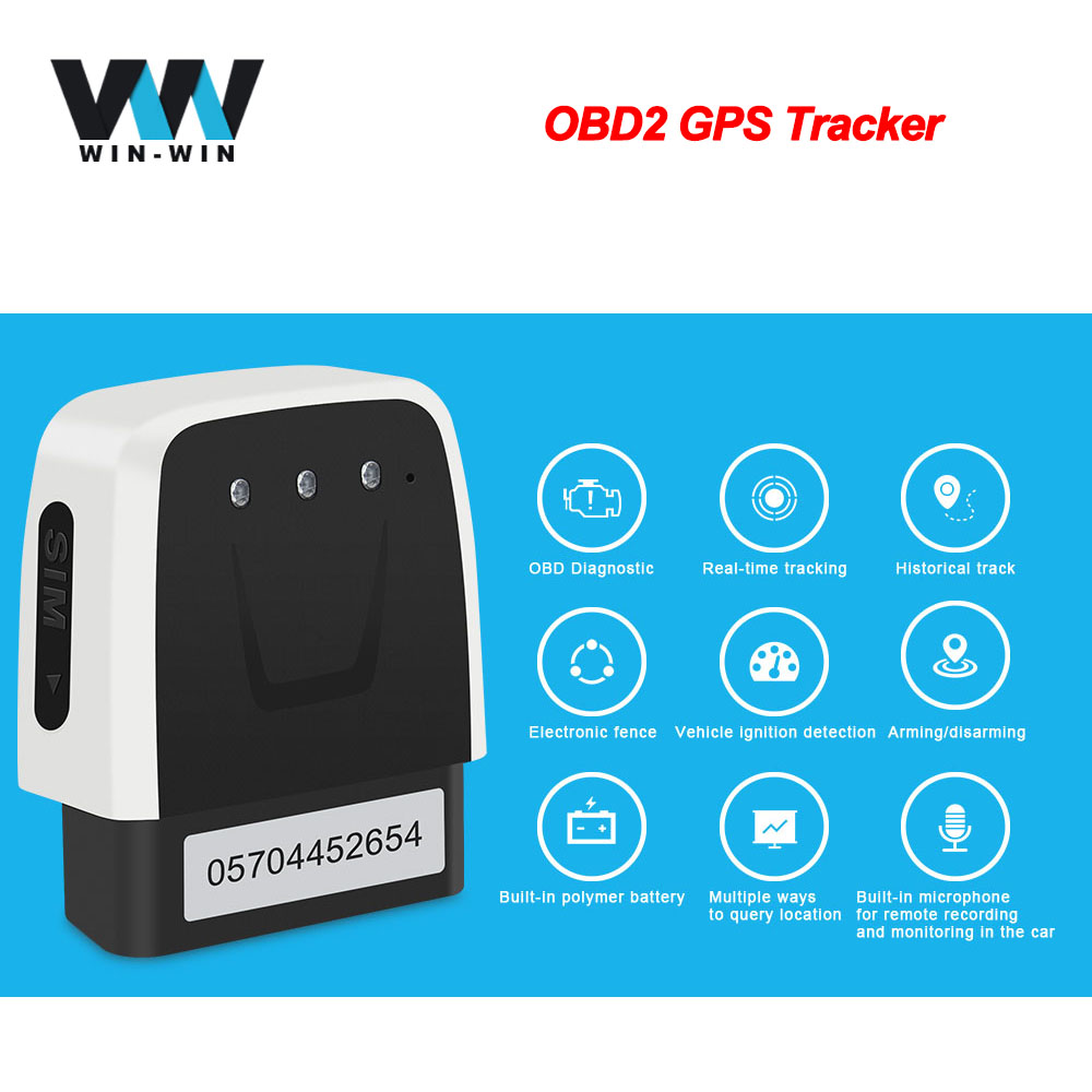 Locator Car-Tracker Obd2-Scanner GPS Auto V20 for MINI title=