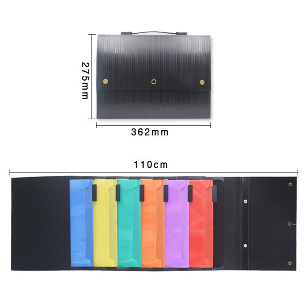 Hanging Organizer Wall Pocket Expanding File Folder Portable Document A4 Size Letter Holder New