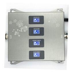 850 900 1800 2100 МГц усилитель сигнала сотового телефона 2G 3G 4G LTE ретранслятор CDMA GSM DCS WCDMA B1 B5 B8 B3.only усилитель