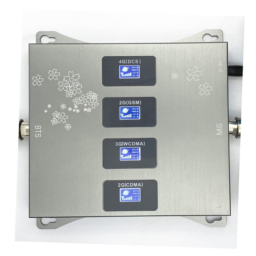 850 900 1800 2100 mhz cep telefon güçlendirici sinyal amplifikatörü 2G 3G 4G LTE tekrarlayıcı CDMA GSM DCS WCDMA b1 B5 B8 B3.only güçlendirici