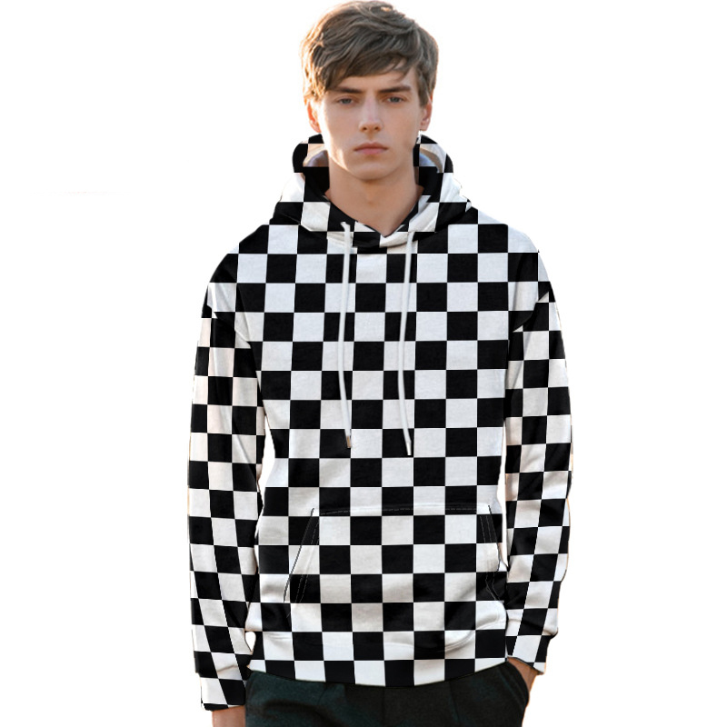 Hot Selling New Style Europe And America Autumn 3D Digital Printing Hoodie Plus-sized Menswear Hoodie Sweater Customizati