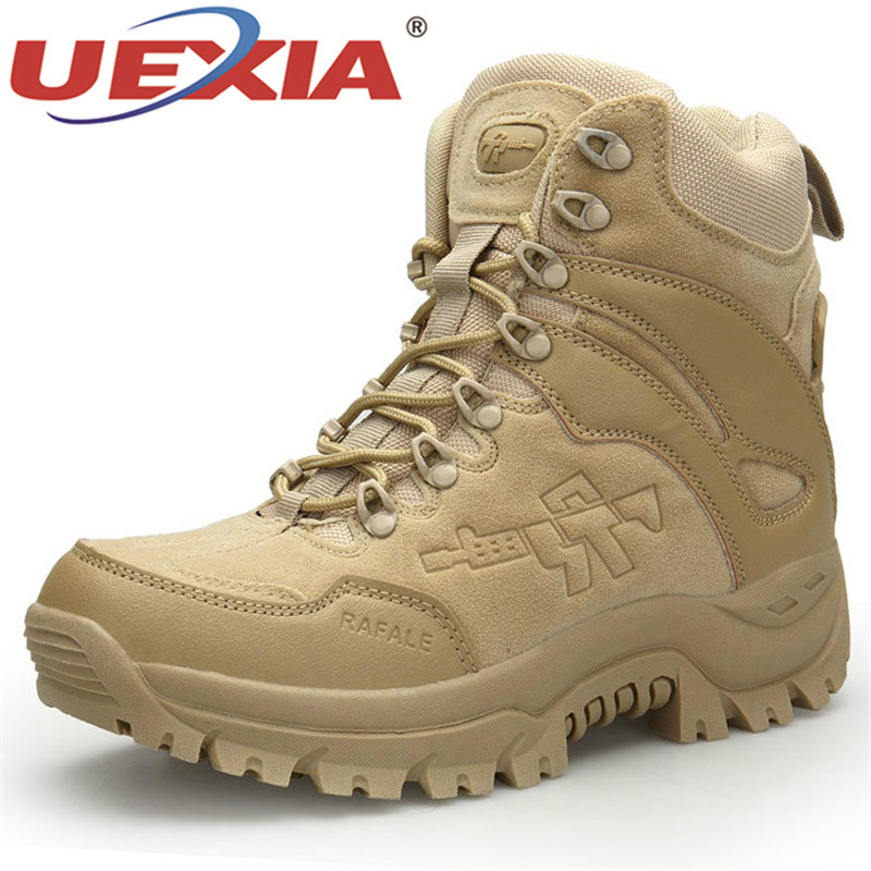 NEW Men High Quality Brand Military Boots Special Force Tactical Desert Combat Boats Outdoor Shoes Footwear Army Outdoor Sport
