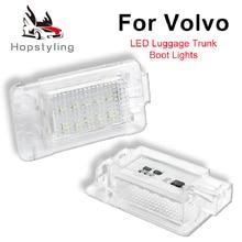 2 шт. светодиодный для Volvo XC70 S60 V60 S80 C70 V70 XC90 светодиодный багажный отсек светильник багажник светильник авто светильник ing системы автозапчастей