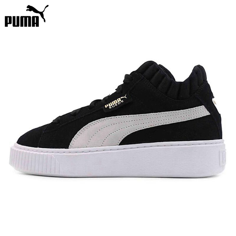 Original New Arrival  PUMA Platform Demi Wns Women's  Skateboarding Shoes Sneakers