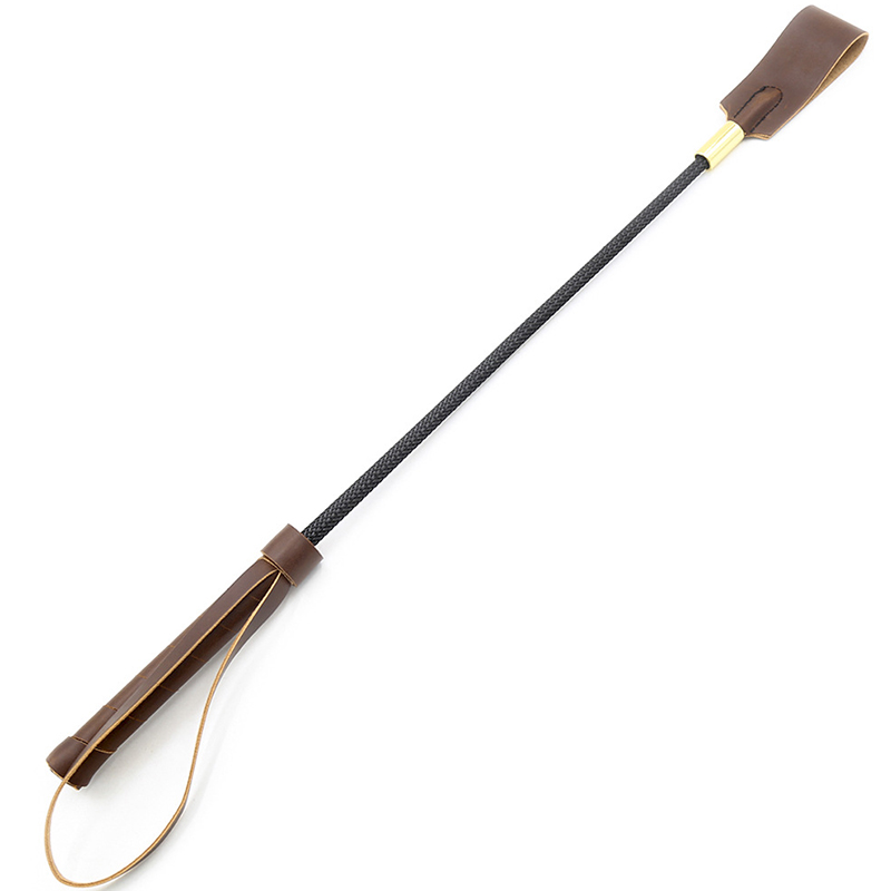 17.7 Inch Riding Crop Jump Bat Horse Equestrian With Double Slapper