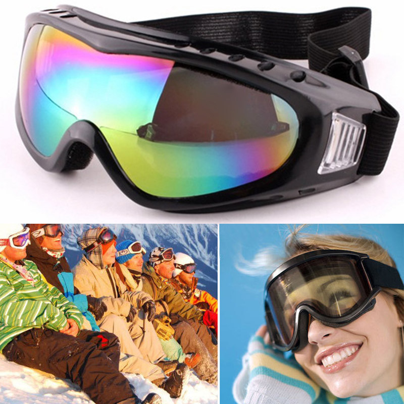 Childrens Ski Goggles Outdoor Riding Glasses Windproof Radiationproof Goggles BB55