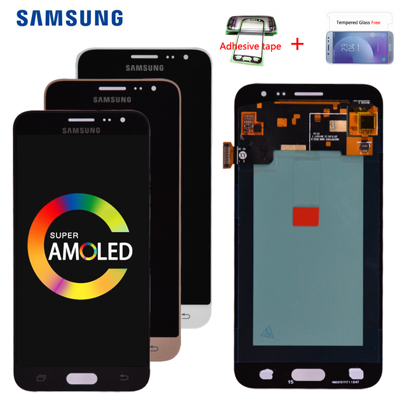 Original <font><b>AMOLED</b></font> For Samsung Galaxy J3 2016 <font><b>J320</b></font> J320A J320F J320P J320M J320FN <font><b>LCD</b></font> Display Screen Touch Digitizer Assembly image
