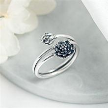 Женское винтажное Открытое кольцо flyleaf серебро 925 пробы