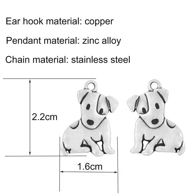 Dog Pendant Necklaces Set 2