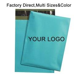 50 logotipo a medida PCS de sobres acolchados sobres de mensajería de almacenamiento Postal bolsas de embalaje de regalo acolchado envío sobres de burbuja