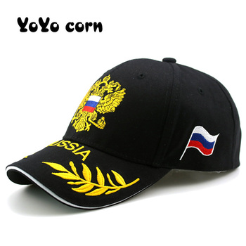 цена на Ladies new fashion RUSSIA embroidered baseball cap fashion outdoor visor hat men women casual hats adjustable cotton sports caps