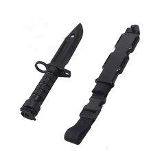 Безопасный 1: 1 резиновый нож для любителей военных тренировок
