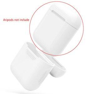 Image 4 - Vococal funda protectora de silicona a prueba de golpes para Apple AirPods, funda protectora que brilla en la oscuridad, accesorios para auriculares inalámbricos