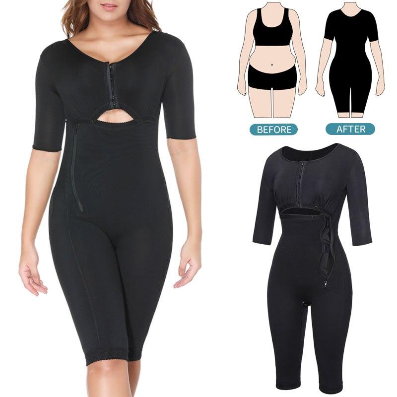 Bodysuit Shapewear Full Body Shaper Waist Trainer Women Tummy Control Slimming Sheath Seamless Fajas Abdomen Reducer Corset