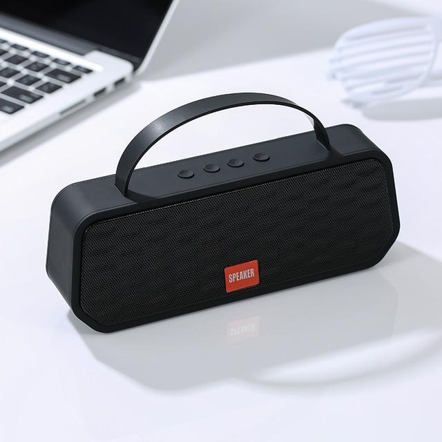 휴대용 블루투스 5.0 스피커베이스 사운드 야외 무선 스피커 지원 tf 카드 fm 핸즈프리 통화 1200 mah 서브 우퍼