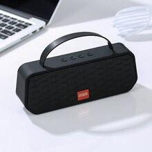 Taşınabilir Bluetooth 5.0 hoparlörler bas ses açık kablosuz hoparlör desteği TF kart FM Handsfree çağrı 1200mAh Subwoofer