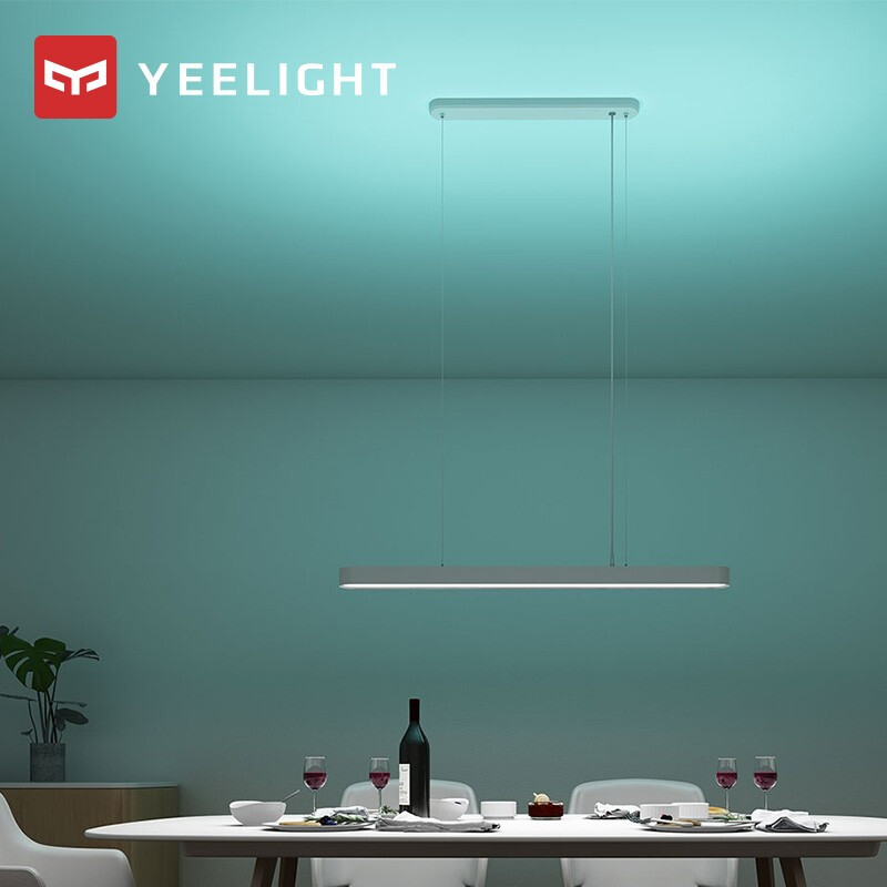 YEELIGHT Smart LED Pendant Light Dinner Lamp Colorful Atmosphere Light Adjustable Brightness Ra95 CRI 1800lm Support App Control
