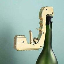 2nd geração champanhe vinho ejetor dispensador liga refrigerante cerveja champanhe pistola fonte garrafa pourer clube festa champanhe arma