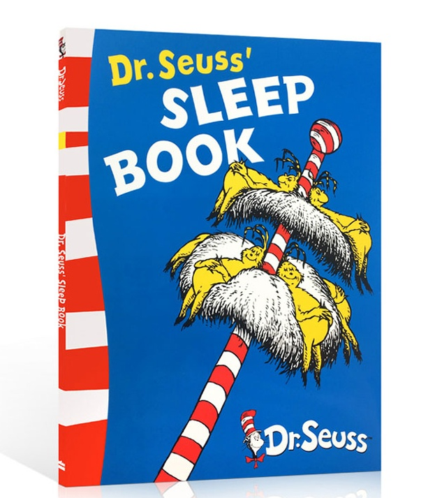 Dr.Seuss' SLEEP BOOK By Dr Seuss  Children Books Baby Learn English Language Reading Story Picture Book Gifts For Kids