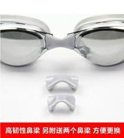 Miopia alta qualidade galvanizado vidro liso óculos de natação grande caixa anti nevoeiro óculos de visão Óculos de segurança     -