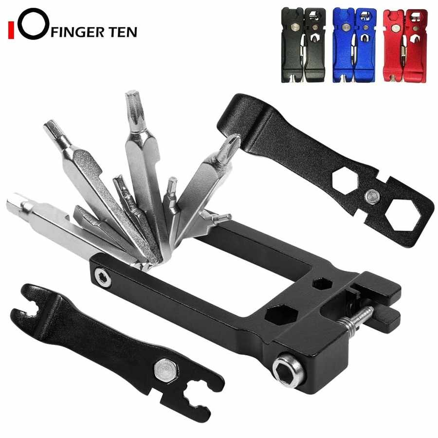 Multitool 20 in 1 Cycling Bicycle Mountain Folding Repair Tool Accessory Kit New