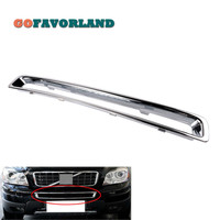 Chrome Exterior Front Plated Bumper Frame Grille 30698143 For Volvo XC90 2007 2008 2009 2010 2011 2012 2013 2014