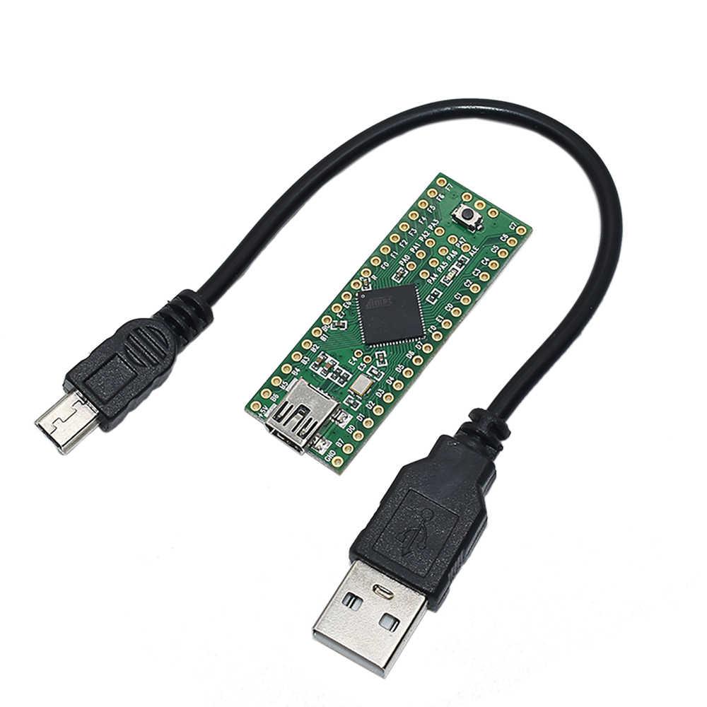 Teensy 2,0 + + USB AVR макетная плата ISP U Disk клавиатура мышь Экспериментальная плата AT90USB1286 для Arduino