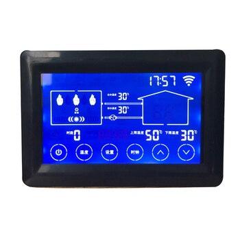 Controlador de caldera eléctrica termostato de caldera 4,3 pulgadas segmento LCD tipo de pantalla táctil 4304