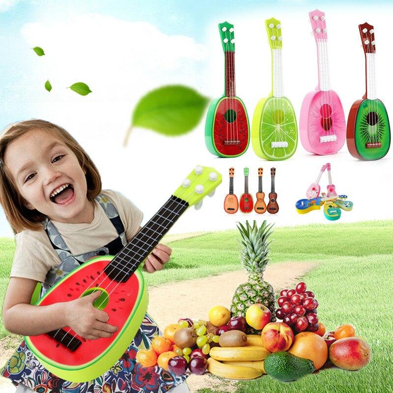 Baby Mini Ukulele Toys Guitar Musical Instruments Toys Educational Kids Musical Instrument Toy For Kids Musical Toys