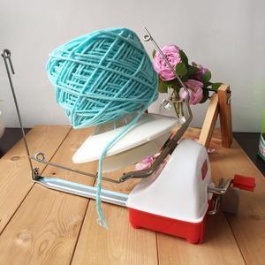 Большая металлическая пряжа струна из волокна шариковая шерстяная намотка держатель для домашнего ручного кабеля игла машина для намотки ...
