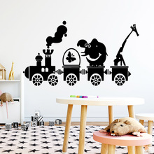 Creative Pig Wall Stickers Vinyl Waterproof Home Decoration Accessories For Kids Rooms Home Decor Wall Decal Home Decor cheap Plane Wall Sticker cartoon For Refrigerator For Tile For Wall Furniture Stickers Window Stickers Single-piece Package B5141