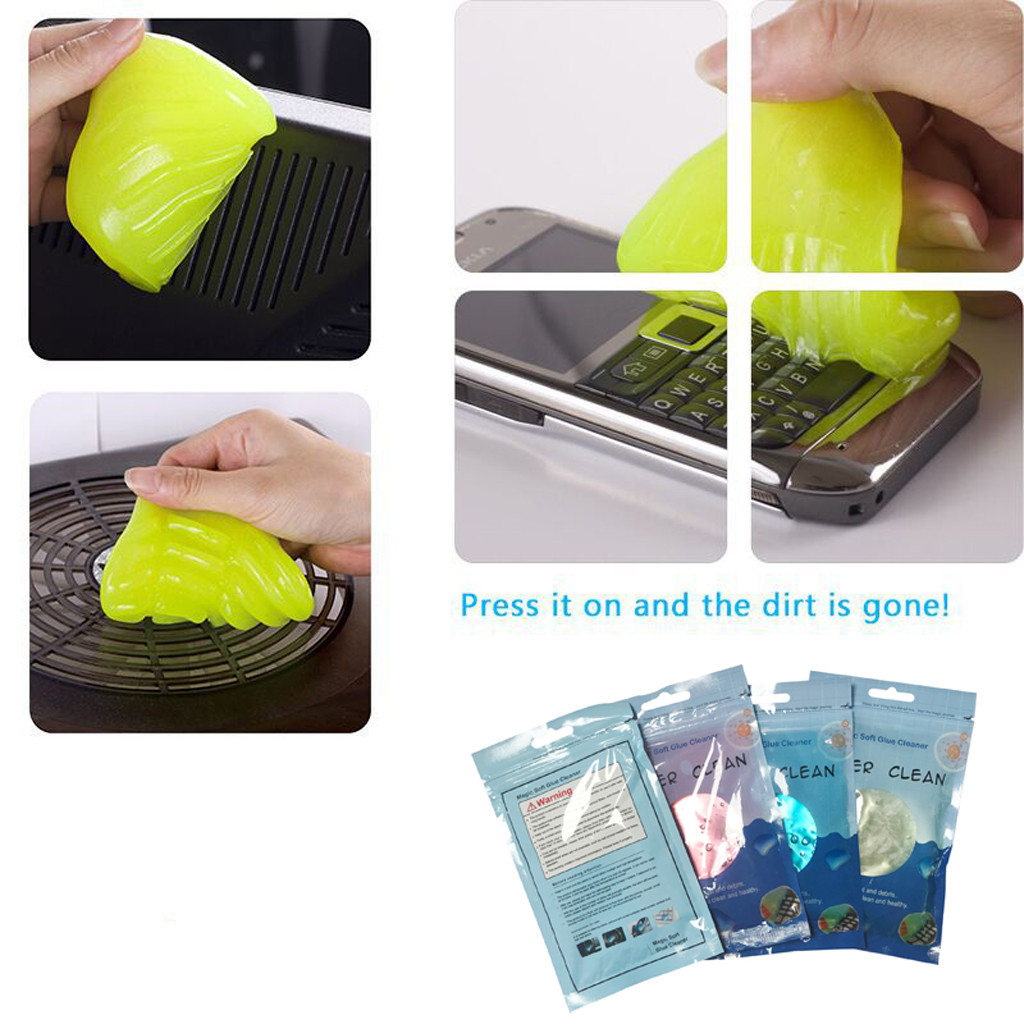 FENIORES Keyboard Cleaner Keyboard Cleaner Gel Vacuum Cleaner Brush Laptop Mud Magic Cleaning Sludge Keyboard Cleaning Soft Gel
