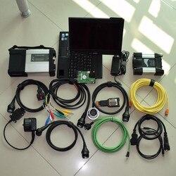 MB gwiazda c5 sd connect + ICOM następny dla BMW jako ICOM A2 A + B + C ICOM A3 z 2 oprogramowaniem w 1tb hdd zainstalowanym z laptopem x201t