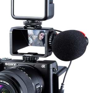 Uurig Flip-Screen-Bracket Periscope-Solution A6500 Selfie A72 Vlog for Mirrorless-Camera