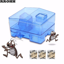 I/2/5PCS Upgrade Cockroach Trap with Bait Safe Efficient Anti Cockroaches Killer Repeller No Pollute For Home Office Kitchen