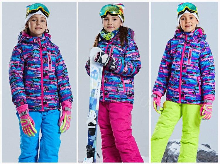 prova de frio vestido de esqui da
