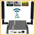 H.265 hd live streaming codificador wifi hdmi transmissor de vídeo sem fio h.264 transmissão ao vivo codificador para rtmp hls http rtsp rtmps
