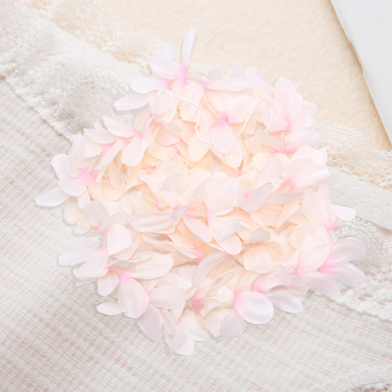 1m Colorful Artificial Silk Flower White Wisteria Flowers Hanging Banner Wedding Birhday Party Celing Vine Decor Kids Room Favor thumbnail