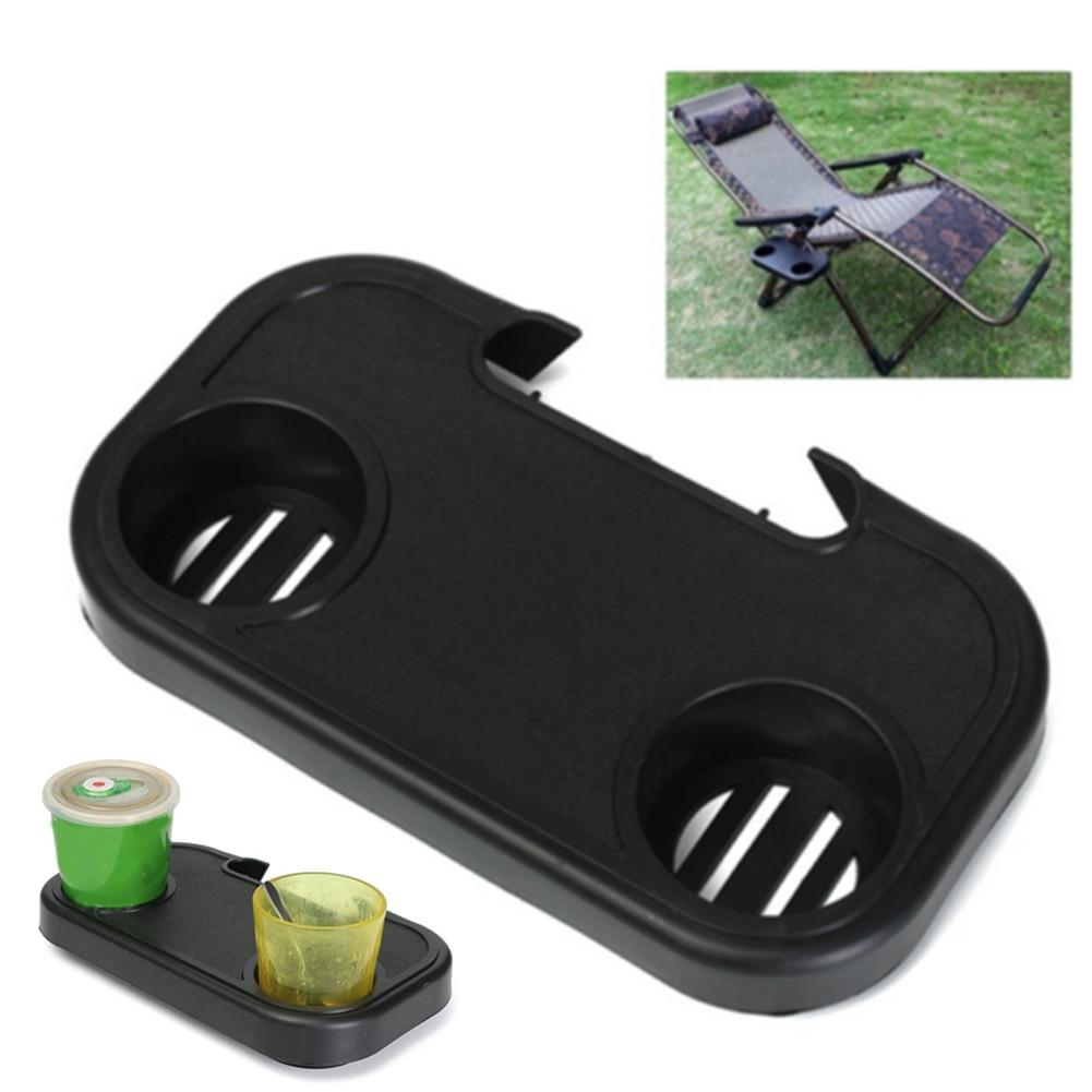 Portable Folding Chair Side Tray Casual For Drink Camping Picnic Outdoor Beach Garden Sillas De Playa Accessories(No chair)