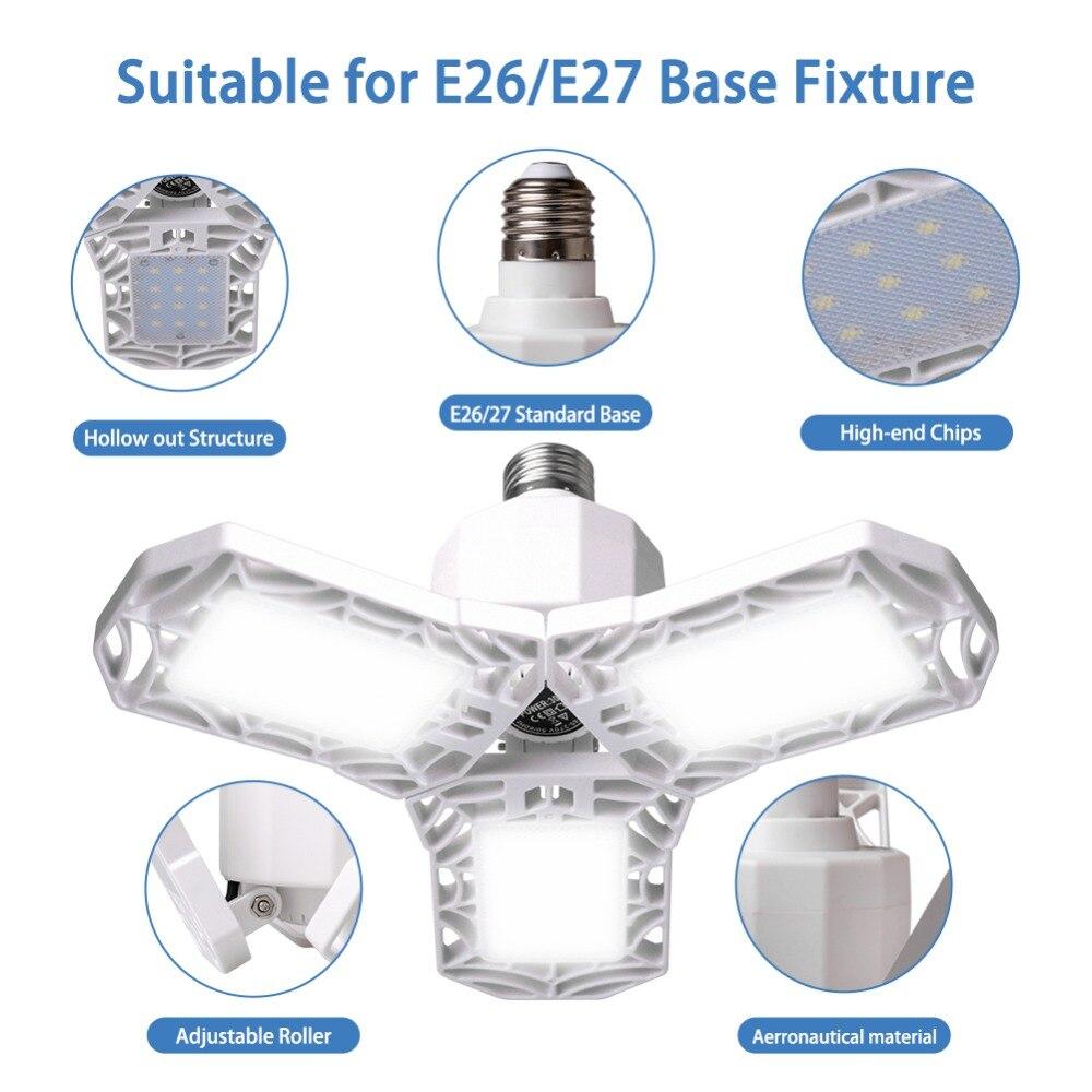 E27/E26 AC85-265V 30W НЛО светодиодный гараж светильник с лампой 3 светодиодный ламп промышленный светильник ing мастерской светильник для складов подвала
