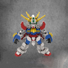 цена на 895PCS Original DIY Mobile Fighter G Gundam GOD GUNDAM MINI Bricks Movie Toys For Boys