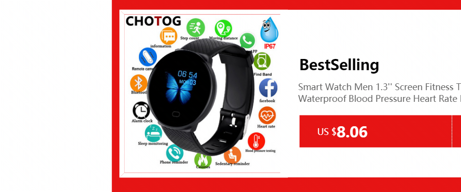 H078d324bf0354f21b1f1bf3f6b93f7d04 Fitness Bracelet Blood Pressure Measurement Waterproof Smart Band Bracelet Watch Fitness Tracker Heart Rate Activity Tracker