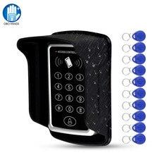 Водонепроницаемая RFID клавиатура управления доступом 125 кГц дверной замок управление Лер 1000 пользовательский считыватель с RFID Ключевые бирки непромокаемая крышка автономный