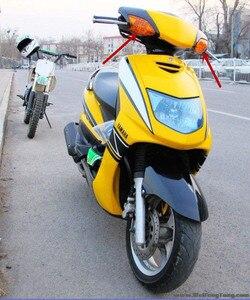 Image 5 - Acessórios da motocicleta para 5ty cygnus125 2002 2005 motocicleta scooter frente turn signal assembléia lâmpada de sinal