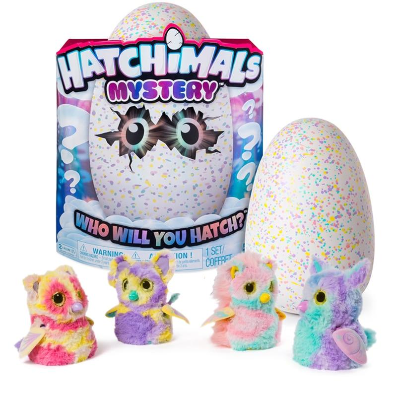 Инкубационное яйцо Hatchimals, волшебное яйцо, креативный детский подарок, игрушки для подарка на день рождения, инкубационные Умные Электронны